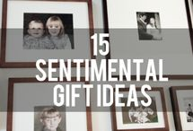 gift inspiration / ideas for green, DIY, and handmade gift giving