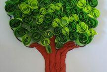 alberi carta