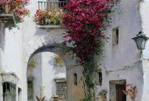 görög utcarészlet