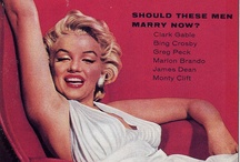 Marilyn Monroe On Magazines / by Katy King
