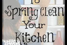 Cleaning / Spring Cleaning tricks & schedules, homemade cleaners, and other ways to save time and money while keeping a clean home! / by Mindi Cherry