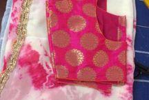 Saree blouse match