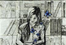 Artwork / by Cindy Girroir
