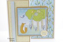 Forest Friends Paper Collection From Creative Crafting World / Here are my handmade cards using the forest friends paper collection from Creative Crafting World