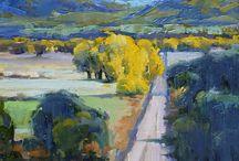 impressionist landscape / impressionist painting