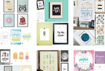 Wall art printables