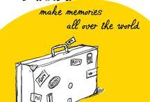 Just Away Nederland / JUST AWAY biedt online reizen aan naar wereldwijde bestemmingen: van reizen voor stadsreizigers tot aan vakanties voor bergvrienden. Travel by inspiration! / by Cherry Picker Amsterdam