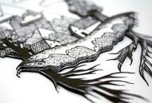 3D Hand Cut Framed Dioramas