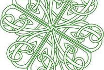 Irish clover designs