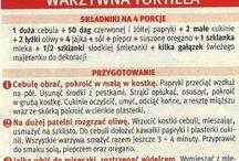 Przepisy kulinarne - tortille
