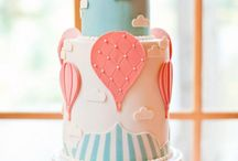 cake and toppers