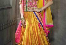 Designer ghaghras