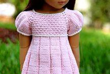 Платья для кукол и не только
