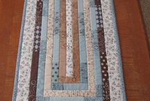 Table Runners, Centres and Toppers