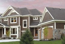 Three Bedrooms Craftsman House Plan / Striking columns and a wraparound porch adorn the façade of this three-bedroom farm house design. Check out more pictures and details at: https://www.dfdhouseplans.com/plan/9662/