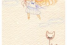 Рисунки про Сашу и Дашу)