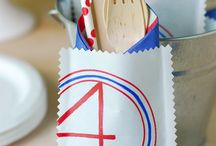 """♥4th of July♥ / I just like how creative you can be, i love the colours, and all things sweet. """"Little things"""""""
