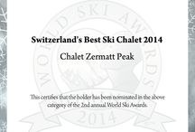 Awards / Awards and accreditations for Chalet Zermatt Peak - the most exclusive chalet in the Swiss Alps