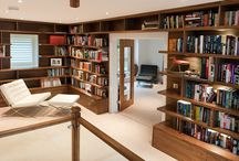 Fitted Bookshelves & Bookcases