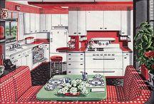 retro kitchen / by Roberta Westfal