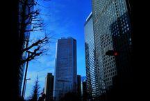 子供の頃からずっと変わらない風景。 It's my hometown. Shinjuku is changing all time, so, I feel nostalgia when I see changing Shinjuku. #landscape #urbanview #skyscraper #shinjuku #tokyo #新宿 #高層ビル写真