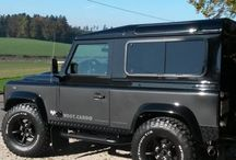 Land Rover / Special equipped Land Rovers