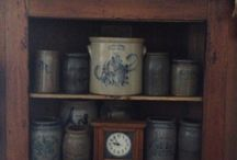 Antique Crocks and Jugs / by Kathy Etheridge
