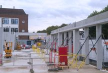 Kingston University Town House / PCE Ltd are adopting an offsite structure approach for the new Kingston University Town House building project which is now underway in Kingston upon Thames near London.
