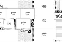 Scrap-layouts en voorbeelden