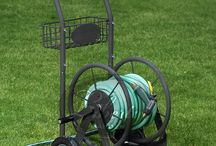 Hose Carts / Made with 13 gauge steel construction, all brass/galvanized fixtures, and a durable powder coat finish, Liberty Garden has the finest hose carts for your needs!