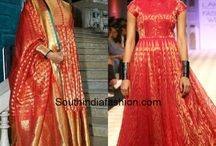 old Sarees into dresses