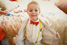Groom + Groomsmen + Ringbearer / by Shelly Voss PTL