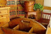 Antique wooden boxes / by melanie Archer