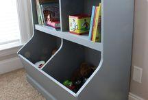 Hailee's toy box