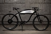 Derringer Electric / The all new Derringer Electric bike blends board track inspired styling with powerful propulsion to create a head turning mode of transport, as beautiful as it is functional.  http://www.kickstarter.com/projects/174991039/the-derringer-electric-bike / by Derringer Cycles