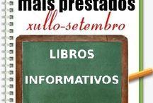 Máis prestados LIBROS INFORMATIVOS VERÁN 2014 / Os máis prestados de LIBROS INFORMATIVOS na Biblioteca Ánxel Casal XULLO-SETEMBRO 2014
