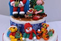 Christmas Cake Designs / by Tanya Rystwej
