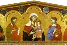 Гвидо да Сиена (итал. Guido da Siena) — итальянский художник,1260-1290г. Сиенская школа. / Гвидо да Сиена традиционно считается если не отцом-основателем всей сиенской школы живописи, то по крайней мере одним из двух отцов (вторым считают Коппо ди Марковальдо). Вокруг его фигуры уже много десятилетий не утихают дискуссии. Единственное произведение, на котором есть его подпись, это «Маэста».