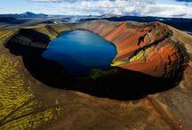 Volcano / fotografie sopek,kalder, krásné a smrtonosné hory či jezera do kterych bi nikdo neřek že jsou časovane bomby naši planety.