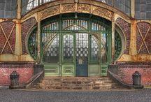 Art Nouveau Doors and Windows / Art Nouveau Doors and Windows