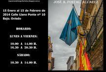 Exposición fotográfica la prestamería / Exposición celebrada en Oviedo capital del Principado de Asturias del 15 de enero al 15 de febrero de 2014