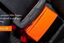 Kid opening belt / Kids opening seatbelt - beltlock.ie