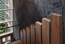 Wooden Stairs / RoncoroniMoretti can design your custom-made wooden stairs.