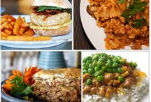 Recipes: Ground turkey and Ground beef / by ErinBrans.com