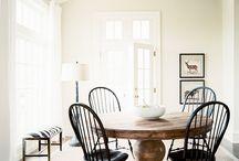 Stol og bord