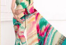 Latest Designer Crepe Silk Exclusive Sarees