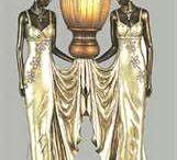 Női vàza szobor