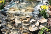 water features / creekbeds
