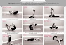 yoga and fun exercise