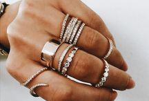 Rings and jewellery